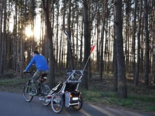 Test/opinia o przyczepce rowerowej dla dzieci Thule Chariot CX1/Thule Chariot CX2