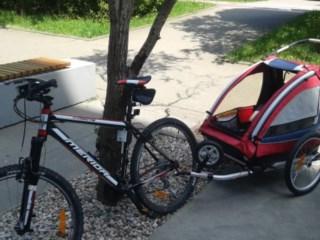 Test/opinia o przyczepce rowerowej dla dzieci Nordic Cab