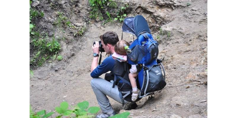 Test/opnia o nosidle turystycznym dla dzieci Deuter Kid Comfort II
