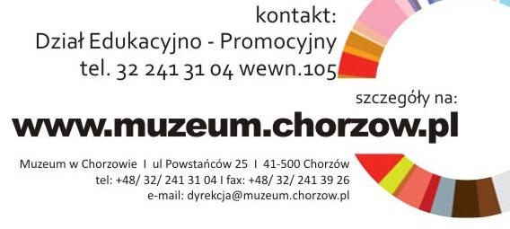 muzeum w Chorzowie oferta dla dzieci i młodzieży