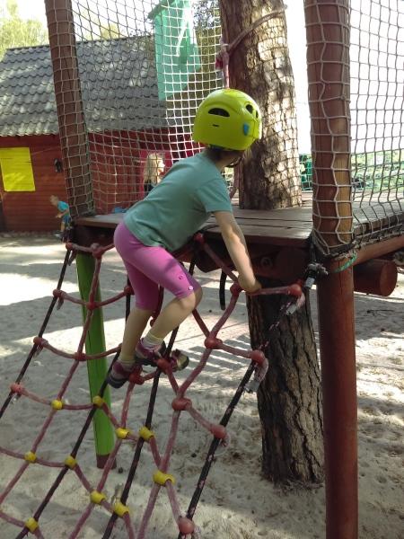 Park linowy Włocławek - atrakcje dla dzieci