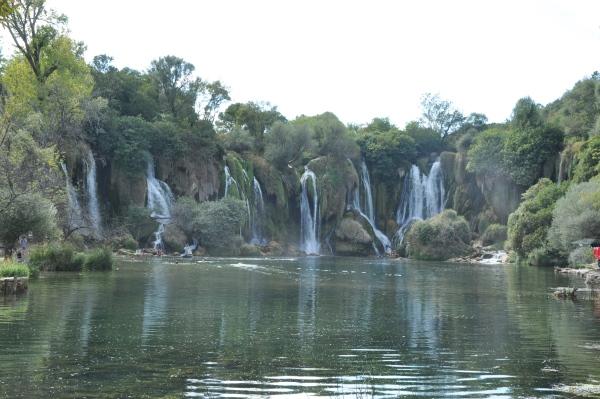 Wodospady Kravica w Bośni i Hercegowinie - jedno z najpiękniejszych miejsc jakie mieliśmy okazję odwiedzić.