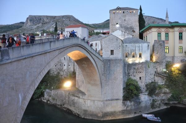 Słynny Stary Most w Mostarze.