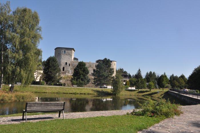Zamek w Liptowskim Hradoku.