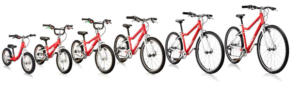 Lekkie rowery dla dzieci WOOM