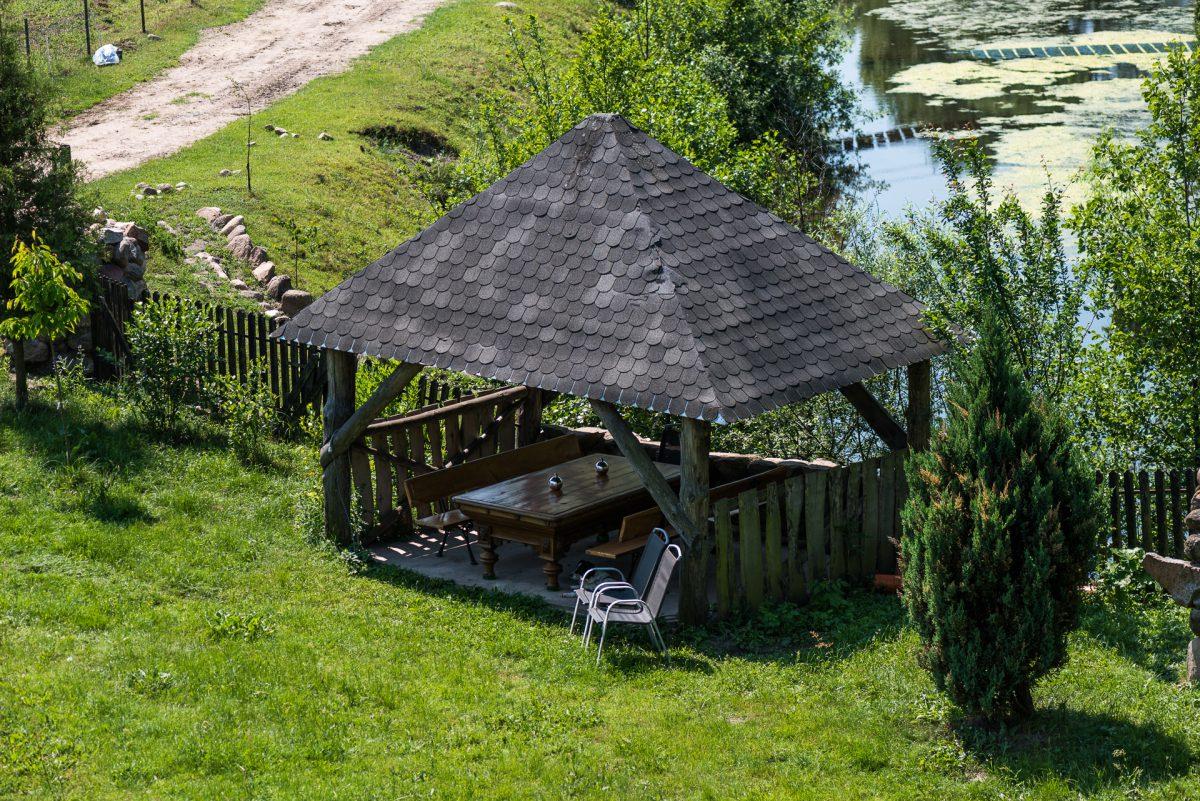 Agroturystyka dla rodzin - Podlasie - altana grillowa