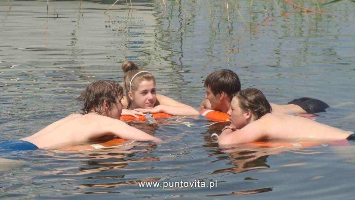 Pływanie żaglówką na Mazurach