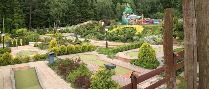 Telegraf - plac zabaw i minigolf - atrakcje dla dzieci Kielce