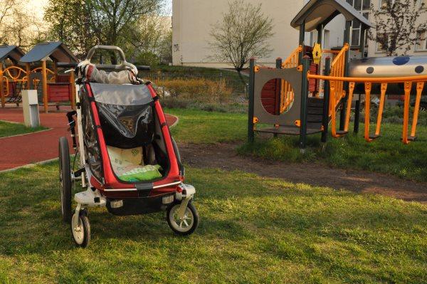 Przyczepka rowerowa Thule/Chariot CX 1 - test, opinie, sklep