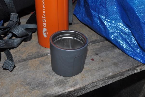 Masywny kubek termosu Korek termosu GSI Glacier Stainless 1L Vacuum Bottle