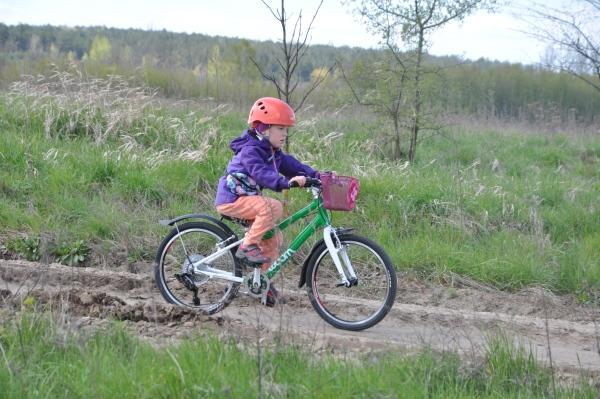 """WOOM 4 na kołach 20"""" - znakomity rower na dłuższe wycieczki rowerowe."""
