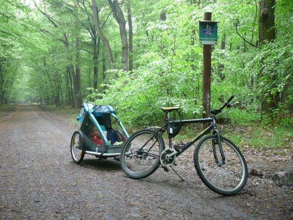 Wycieczka rowerowa z dziećmi