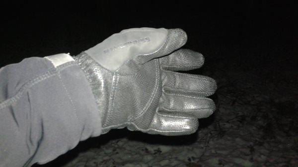 Wewnętrzna strona rękawic Marmot Randonnee GTX