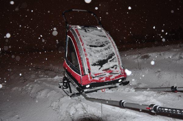 Nordic Cab z zestawem narciarskim