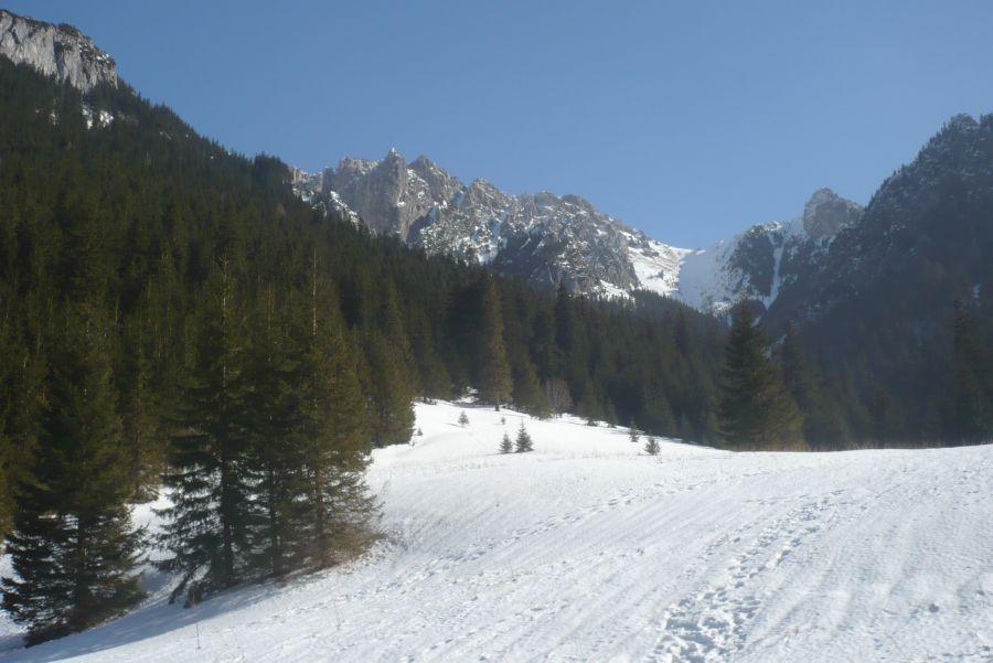 Dolina Kościeliska zimą